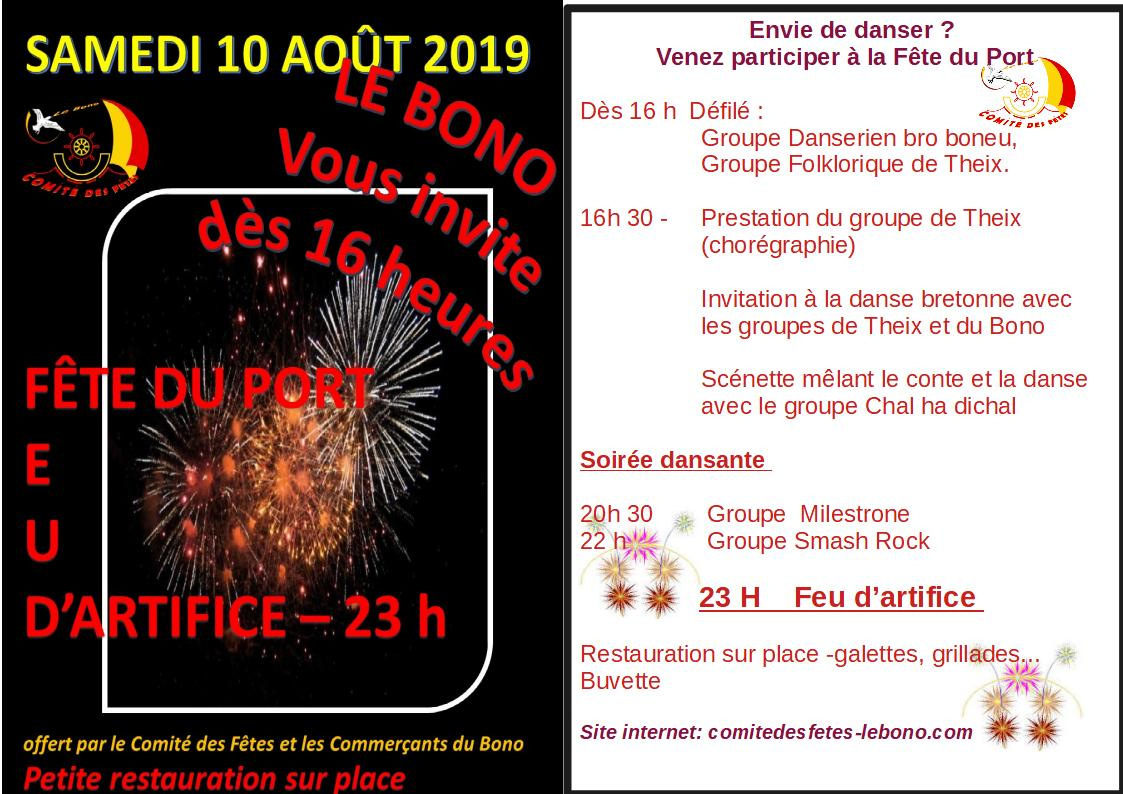 Flyer feu artifice